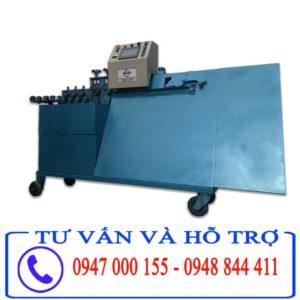 Máy bẻ đai sắt tự động Cá heo Việt 2018