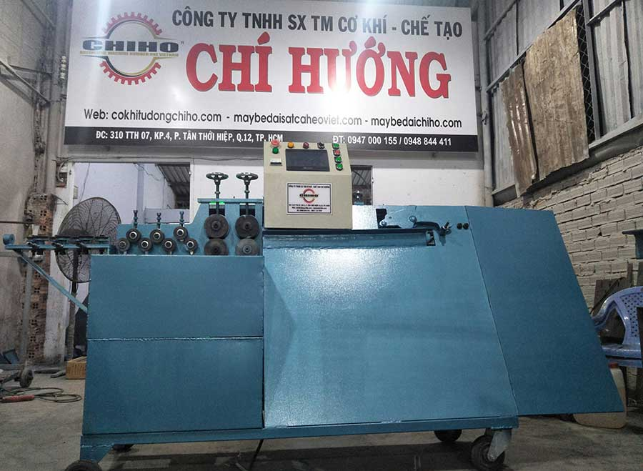 Sản phẩm máy uốn đai sắt của CHIHO là sự lựa chọn hoàn hảo trong ngành xây nhà