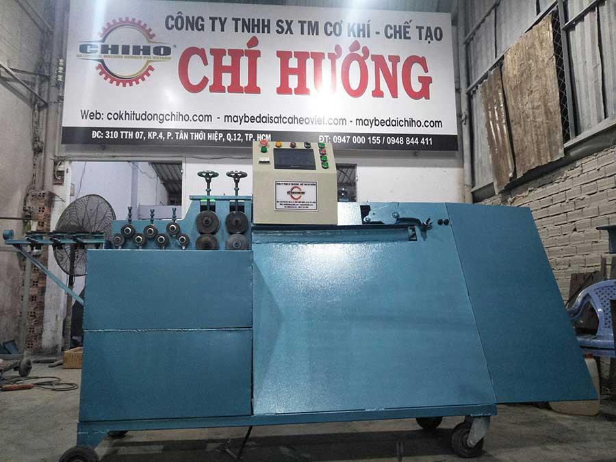 Máy bẻ đai sắt thương hiệu cá heo Việt