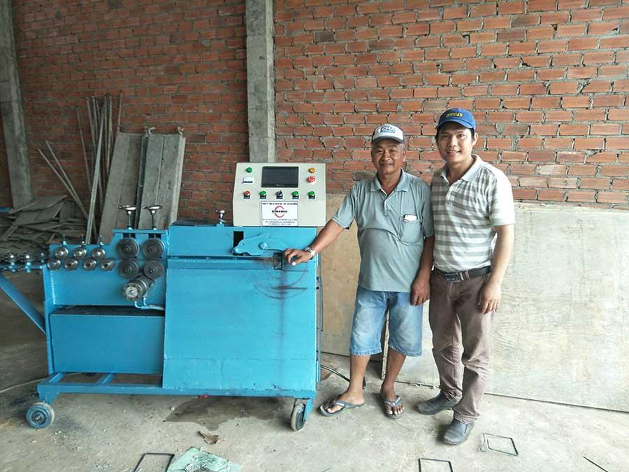 máy làm đai sắt hay máy bẻ đai sắt