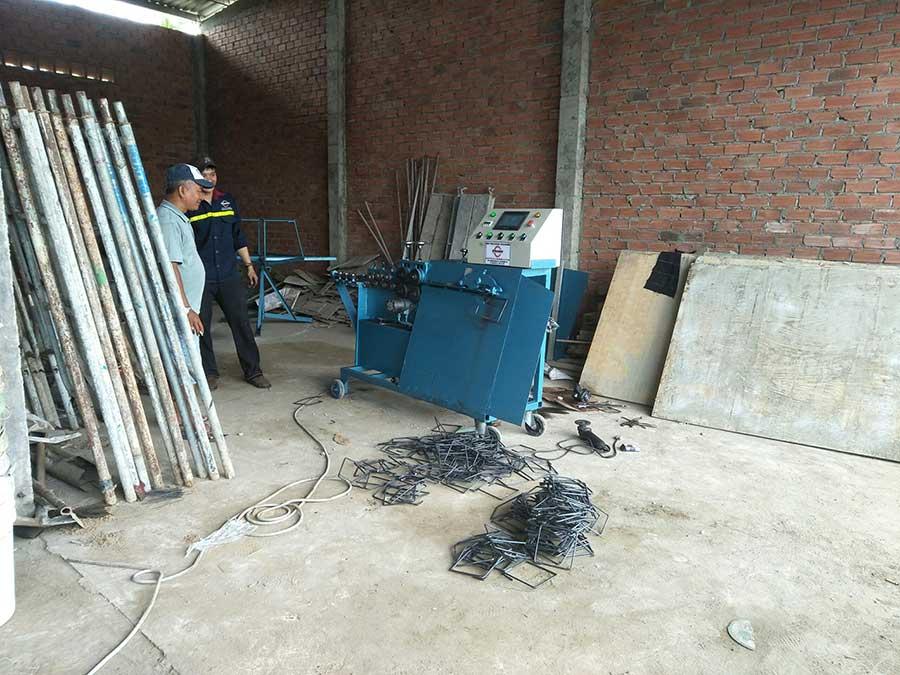 Năng xuất của máy bẻ đai sắt Việt
