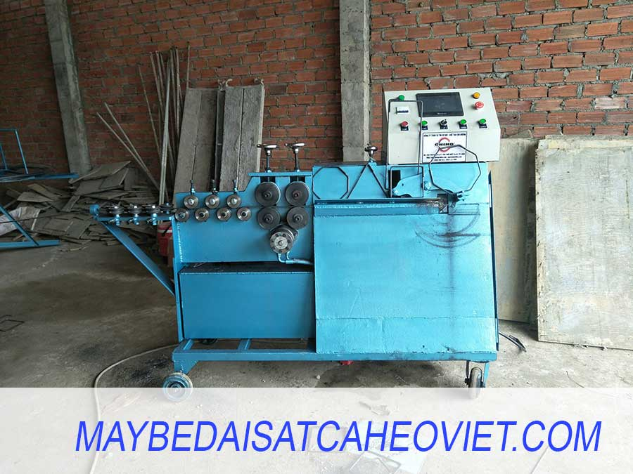 Máy bẻ đai sắt cá Heo Việt