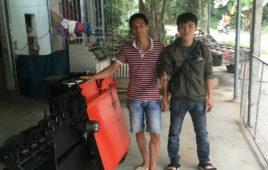 Máy Bẻ Đai Sắt Cá Heo Việt – Thiết Bị Không Thể Thiếu Trong Xây Dựng