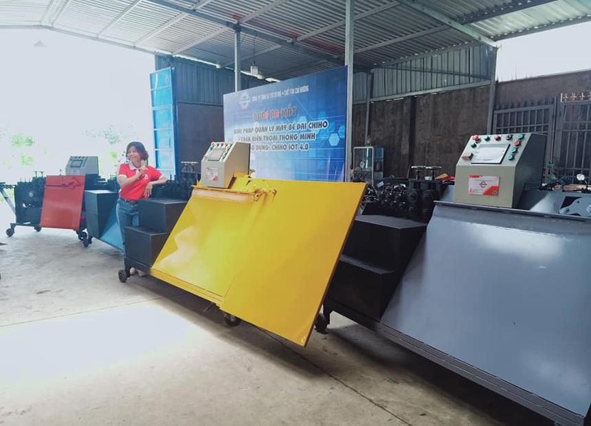Tham khảo về báo giá của máy bẻ đai sắt TMT?